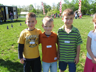 Some of Anna's buddies from school