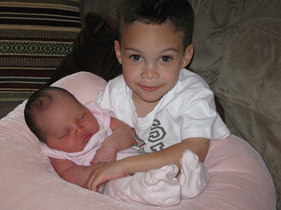 Happy to be a big brother