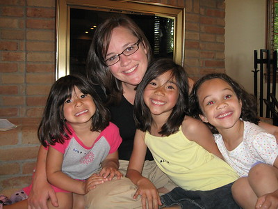 Aunt Leigh and the girls