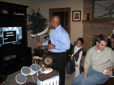 breaking out Rock Band pre-Christmas