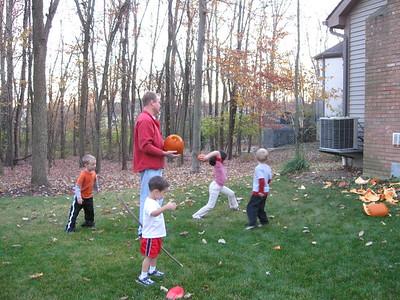 smashing pumpkins with the Brunswicks