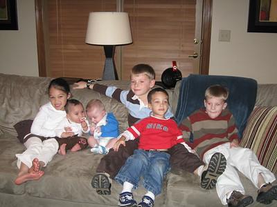 Anna, Megan, Liam, Nick, Kellen, Curt