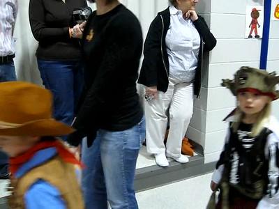 Halloween parade at Anna's school