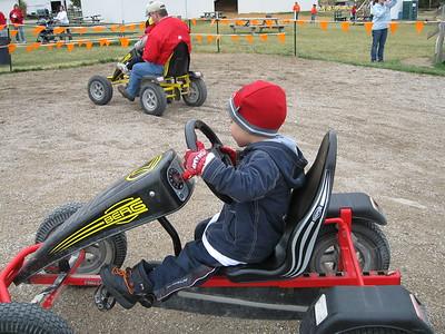 Kellen loved the Go-Karts