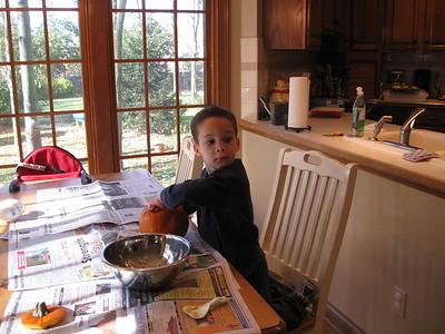 Pumpkin carving time
