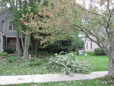 Hurricane Ike hits Columbus