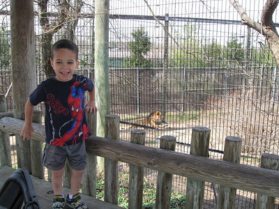 first trip to the zoo in '09