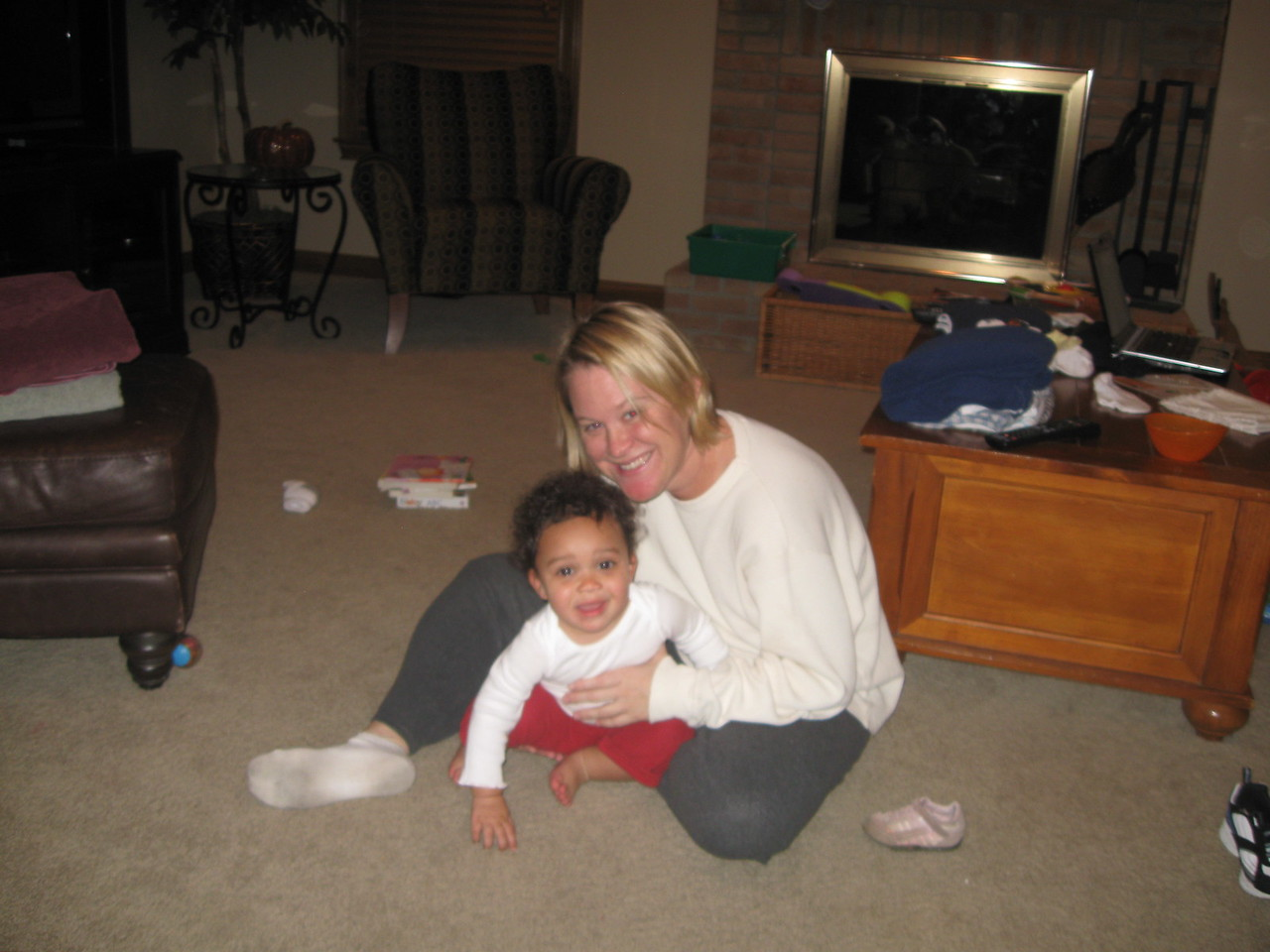 Mommy and Megan
