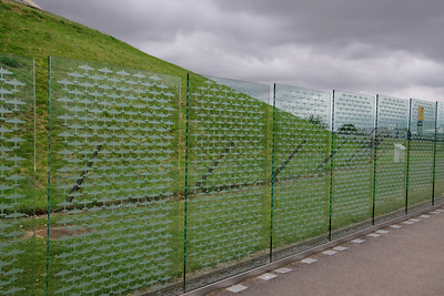Some more panels of the Counting the cost memorial