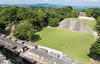 Xunantunich from the top of El Castillo