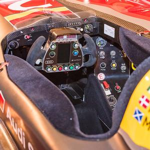 2009 Audi R15 cockpit