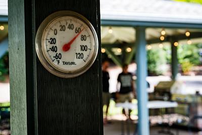 Temperature is perfect!