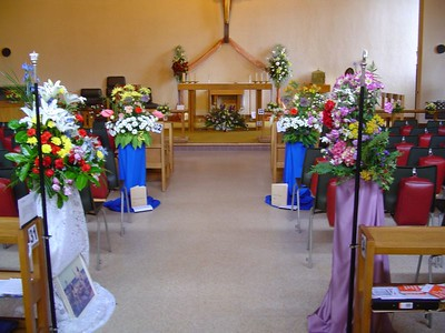 St.Cuthberts Flower Festival