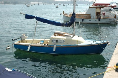 A boat at Pollenca