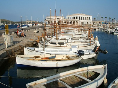 The Harbour at Pollenca
