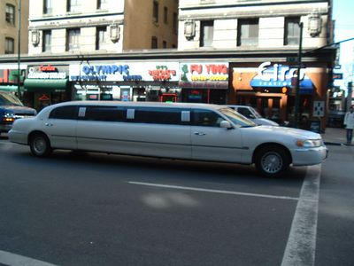One of many Strech Limos