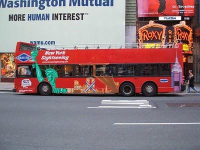 A tour bus