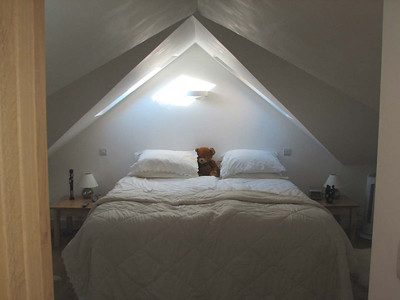 The Main Bedroom at Orlege End