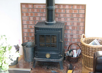 """All """"G""""'s cottages are equipped with these loveley fires"""