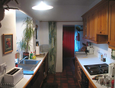 """The Kitchen of the oldest of """"G""""'s Cottages The Wing"""