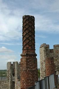 Chimneys Framlingham Castle