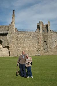 Janet and I at Framlingham Castle