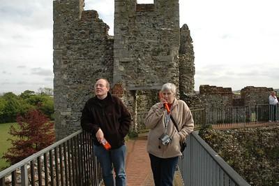 Janet and Paul Framlingham Castle