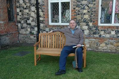 Me at Framlingham Castle