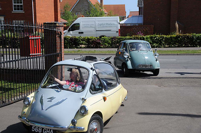 Microcar Rally, East Anglian Transport Museum - Carlton Colville