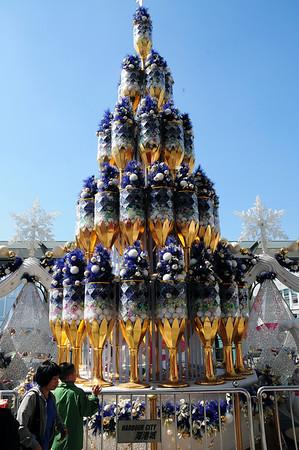 Hong Kong Christmas Decorations