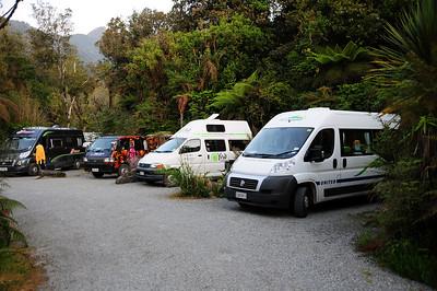 Campervan, Rainforest Retreat