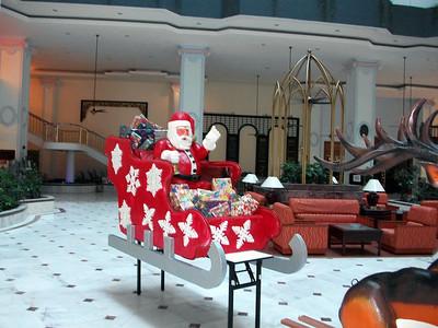 Malaysian Christmas Decorations Bay view Hotel