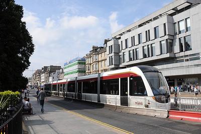 Edinburgh Tram ( Cardboard Cutout)