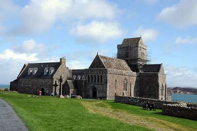 Our Trip to Iona - Iona Abbey