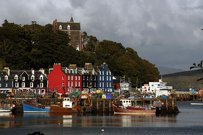Our Trip to Iona - Tobermory