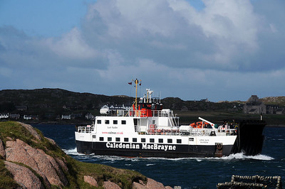 Our Trip to Iona, The Ferry from Mull to Iona