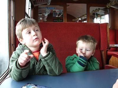 Bo'ness & Kinneil Train, Benjamin & Toby;