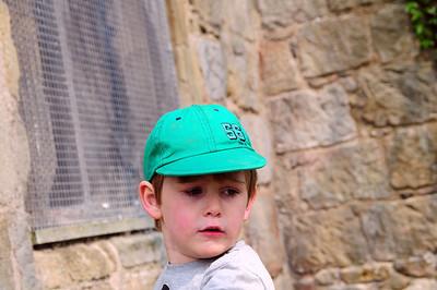 Benjamin at Whittington Castle