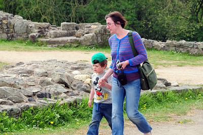Sarah & Benjamin at Whittington Castle