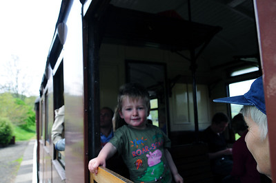 Toby at The Welshpool and Llanfair light Railway