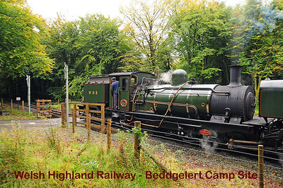Welsh Highland Railway - Beddgelert Camp Site