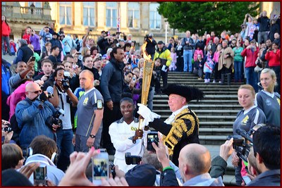 Sunday - Olympic Torch Ceremony