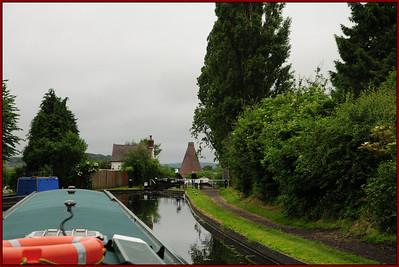 Monday - Stourbridge Canal - Glasshouse Cone