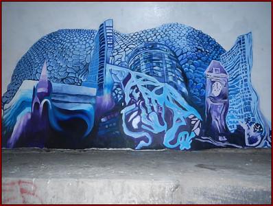 Thursday - Farmers Bridge   - Grafitti