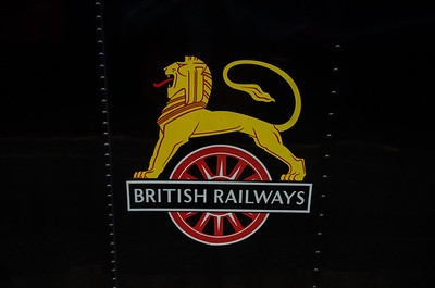 BR totem on Ex GWR 42xx Class 2-8-0T 4247