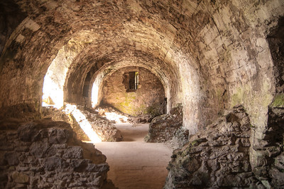 Basements at the castle