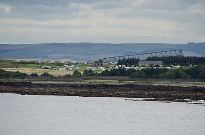 C&CC Site from Dunbar Harbour