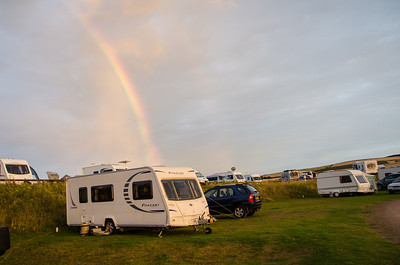 Caravan at the end of the Rainbow