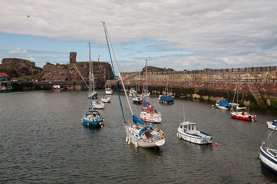 Dunbar Harbour, I hope the tide didn't go out much more