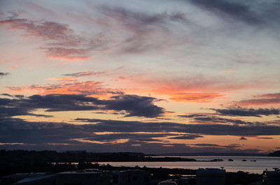 Spectacular Sunset over Dunbar